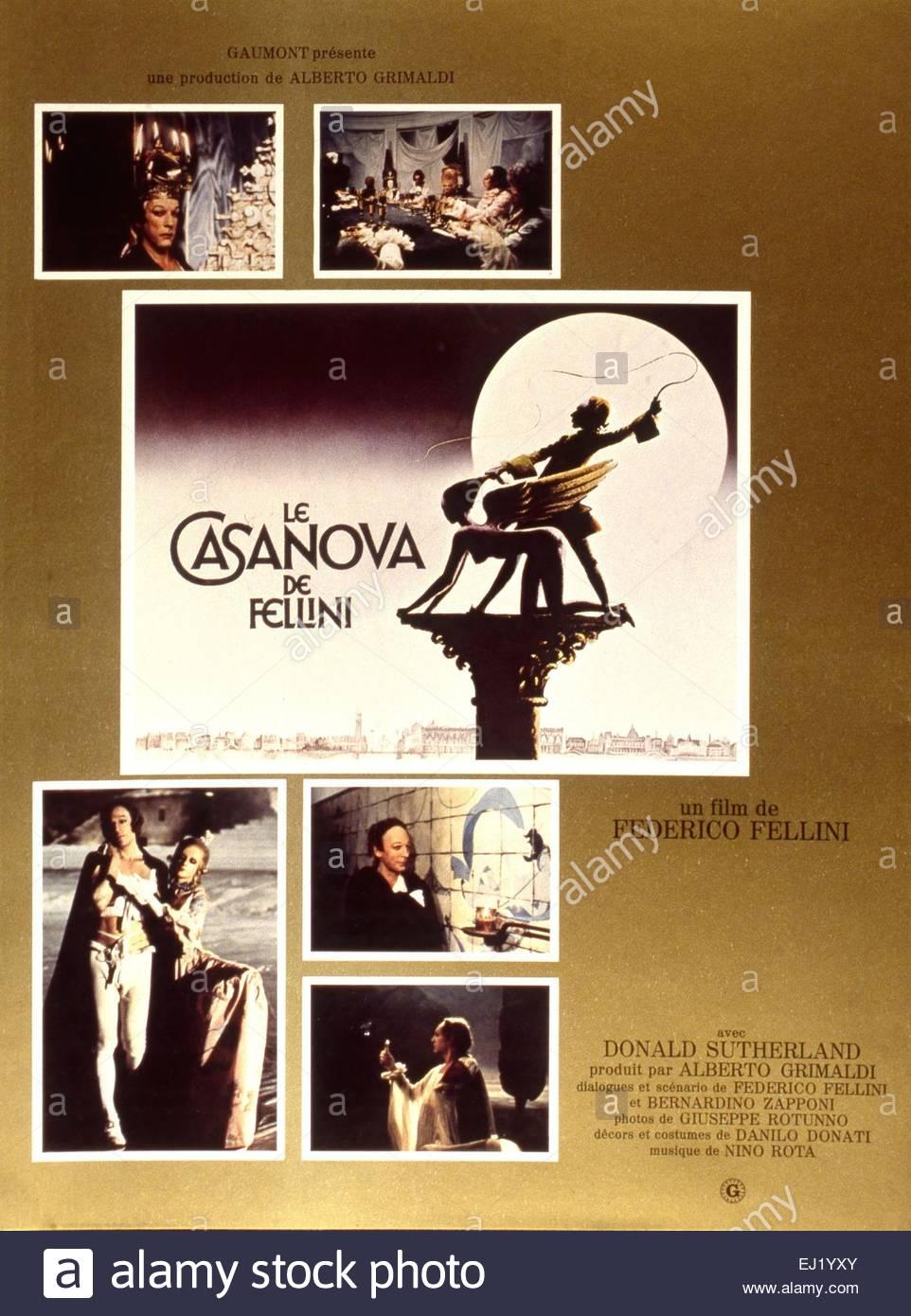 fellinis casanova poster