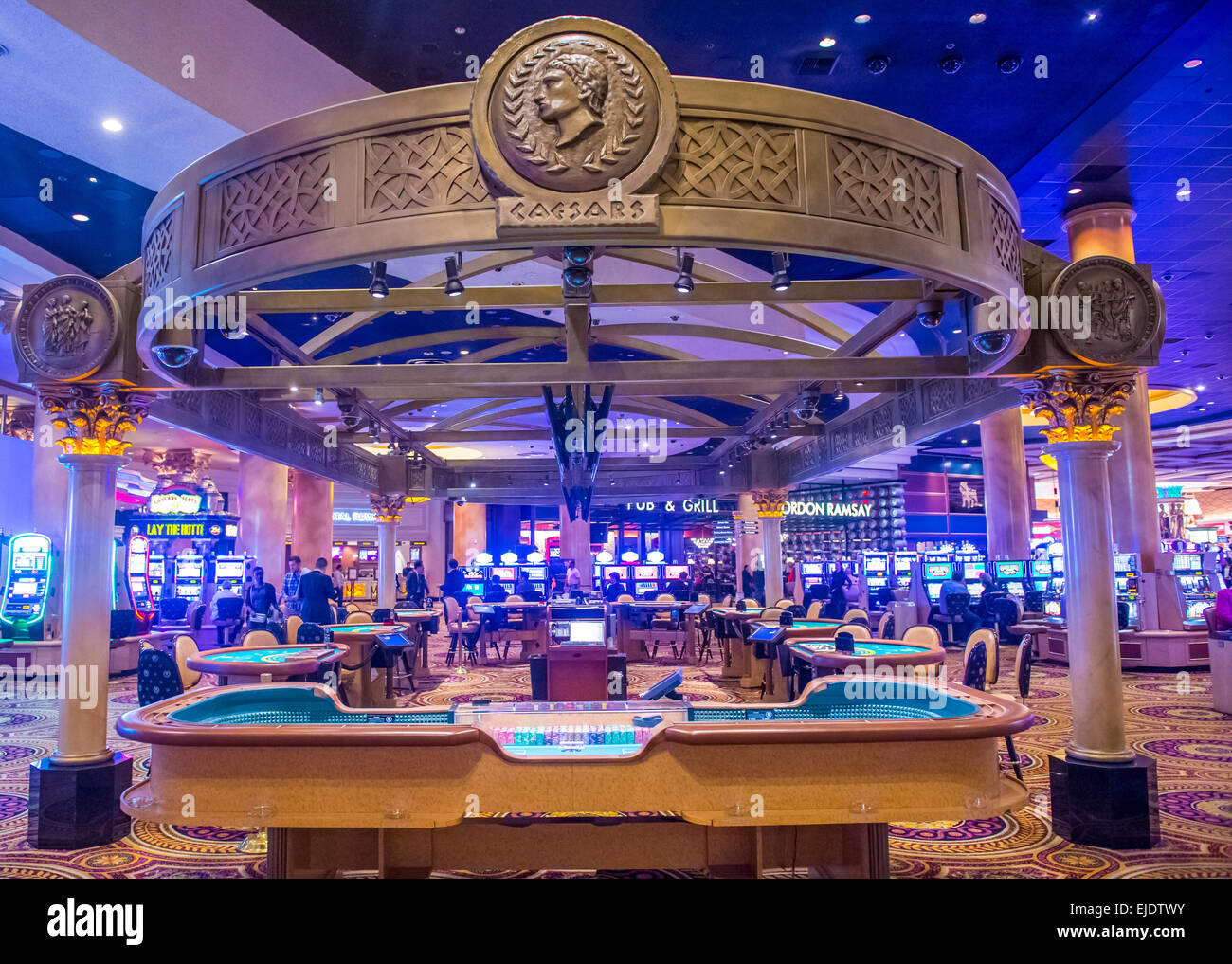 caesars palace casino in las vegas