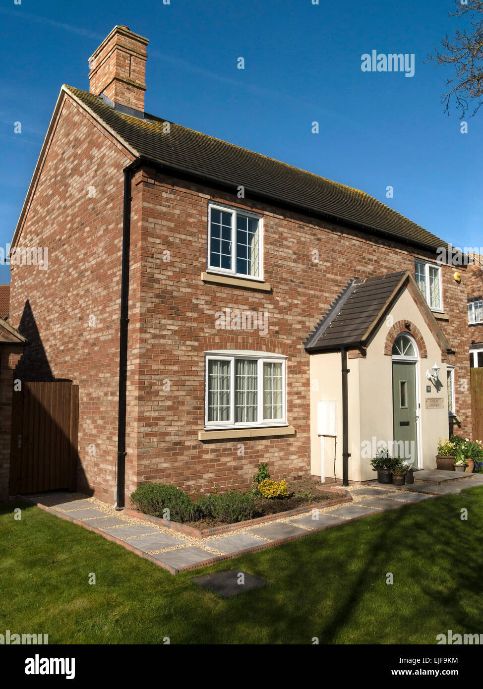 Newbuild home in traditional english cottage style built for Traditional new homes