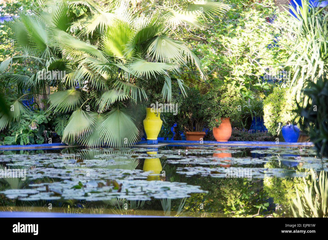 Yves Saint Laurent Memorial In The Majorelle Gardens In