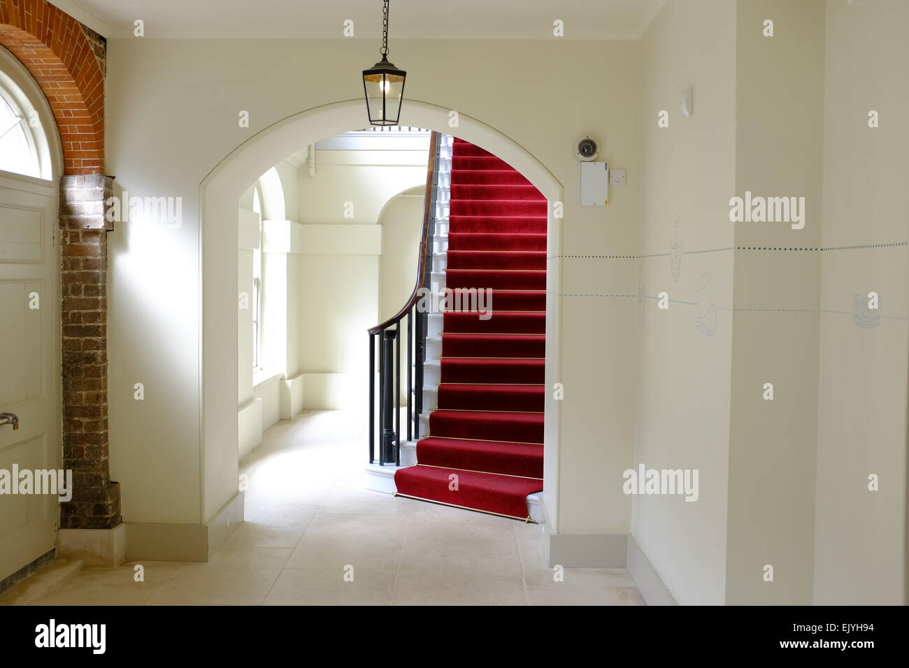 Kensington palace interior london england stock photo for Interno kensington palace