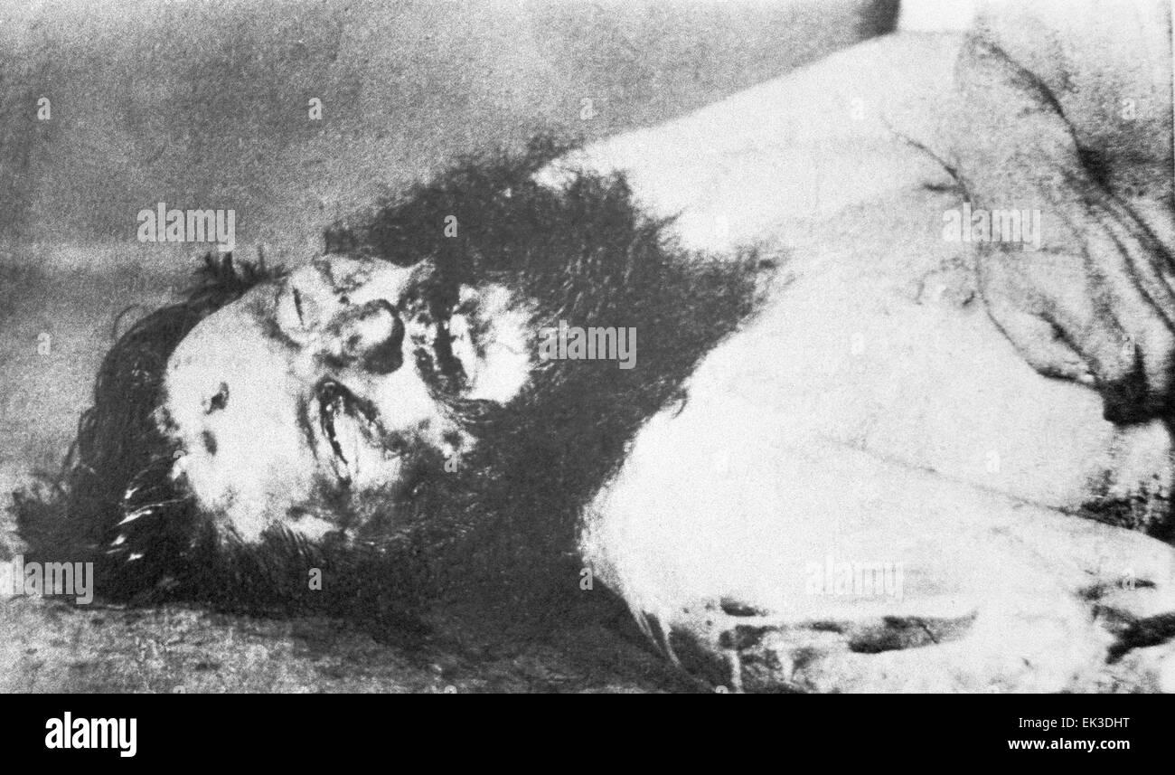 the body of grigory yefimovich rasputin novykh murdered as