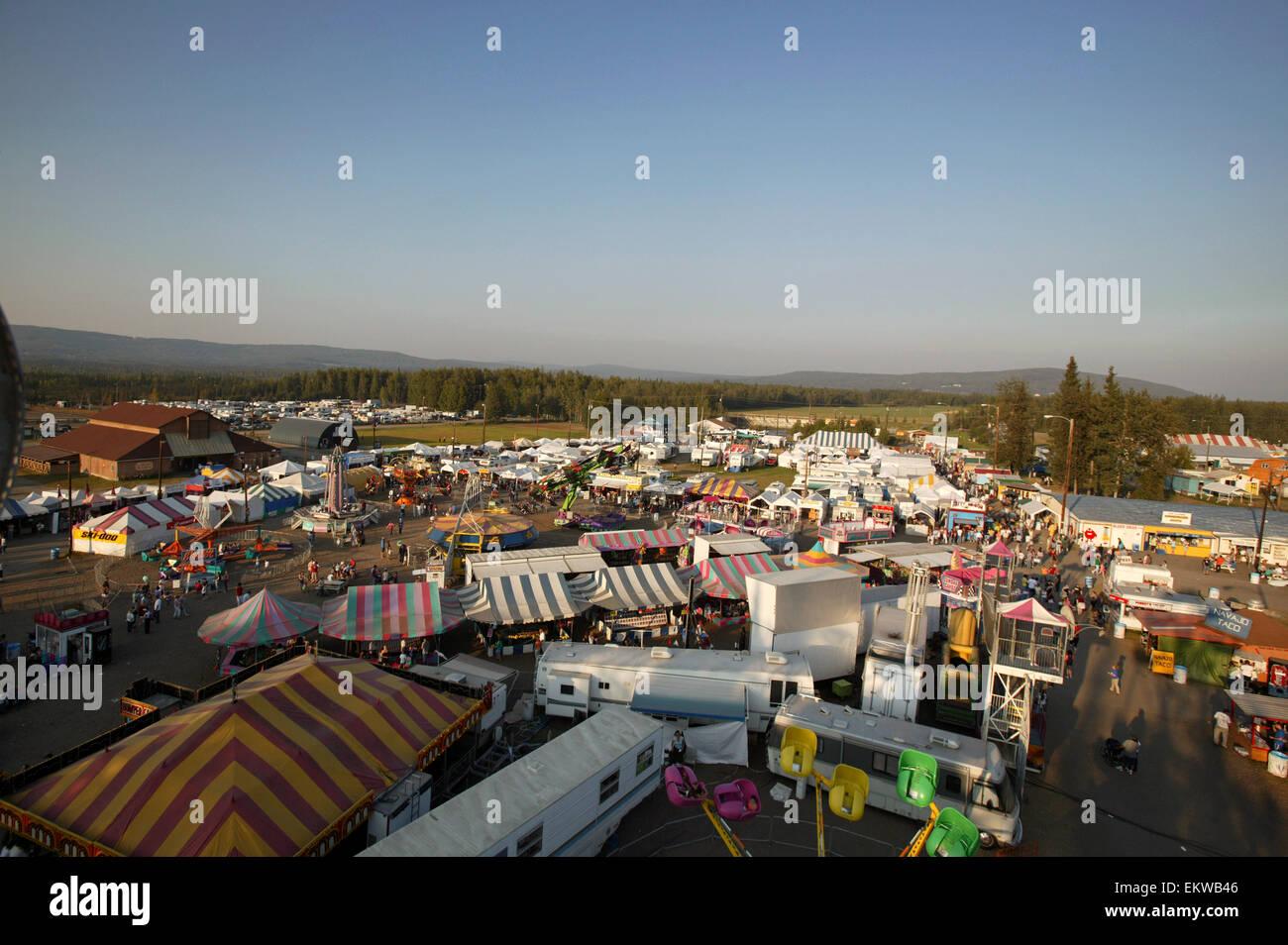 Overview of tanana valley state fair fairbanks alaska for Interior fair