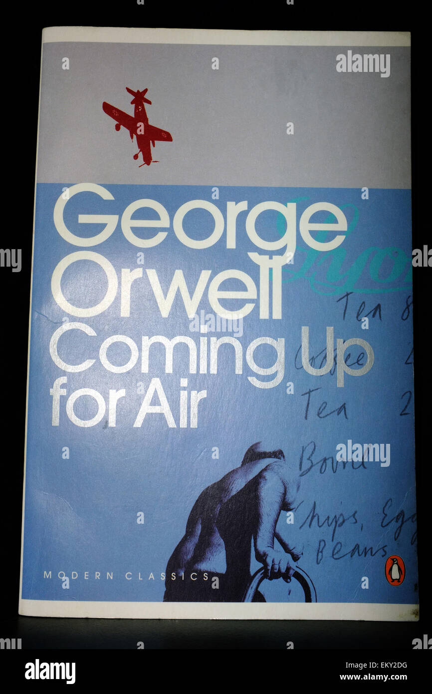 george orwell coming up for air What does it mean to come up for air i often envision a sea turtle whose head breaks through the surface of the ocean in order to get the air that it needs.