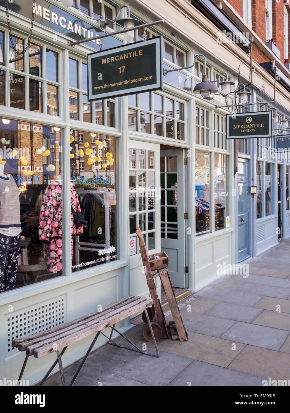 Spitalfields London: Rows Of Shops In Old Spitalfields Market, London Stock