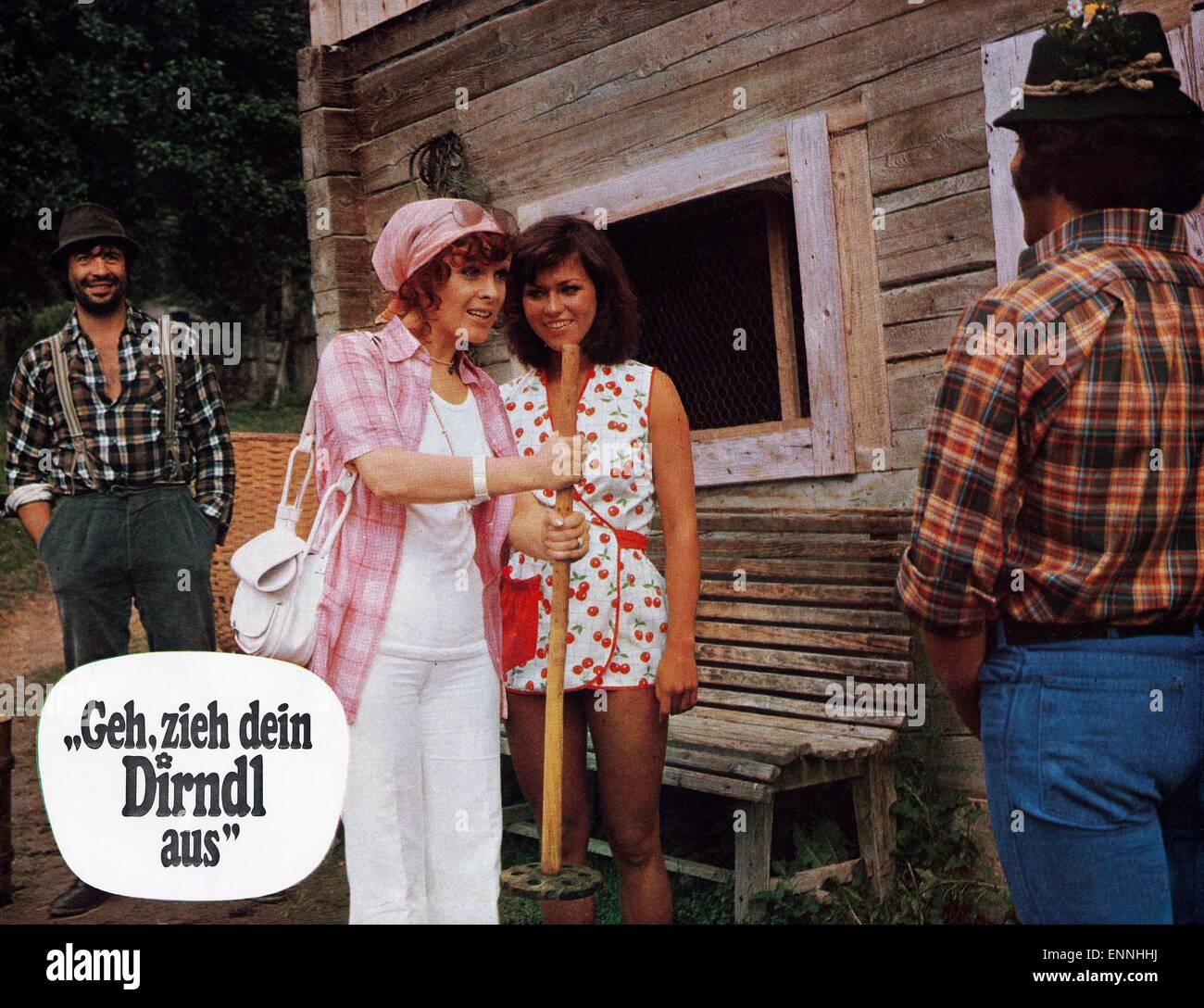Geh, zieh dein Dirndl aus, Deutschland 1973, Regie: Sigi