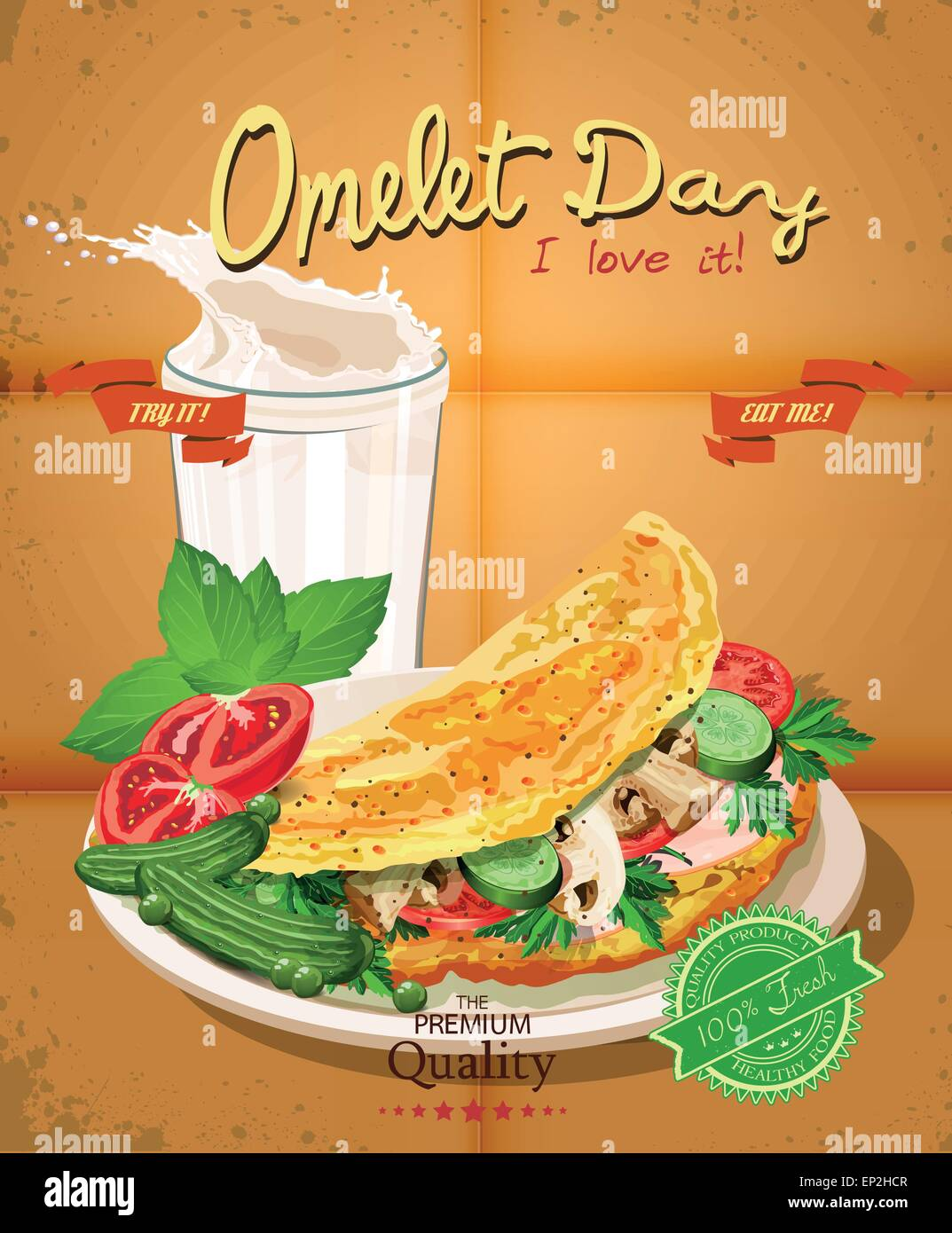 136 Free images of Omelette