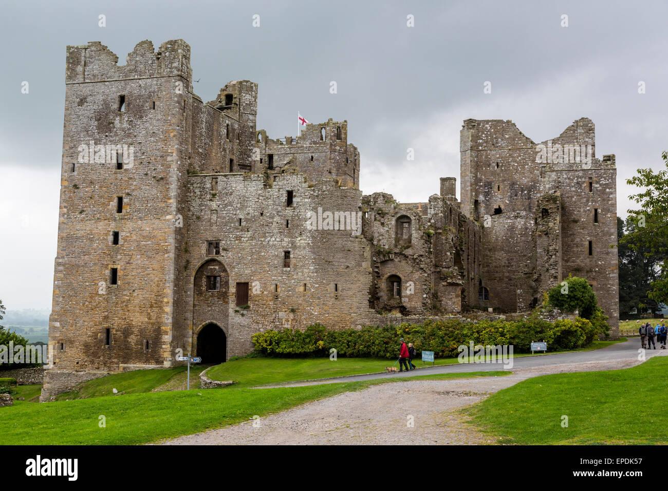 Uk England Yorkshire Bolton Castle Finished 1399