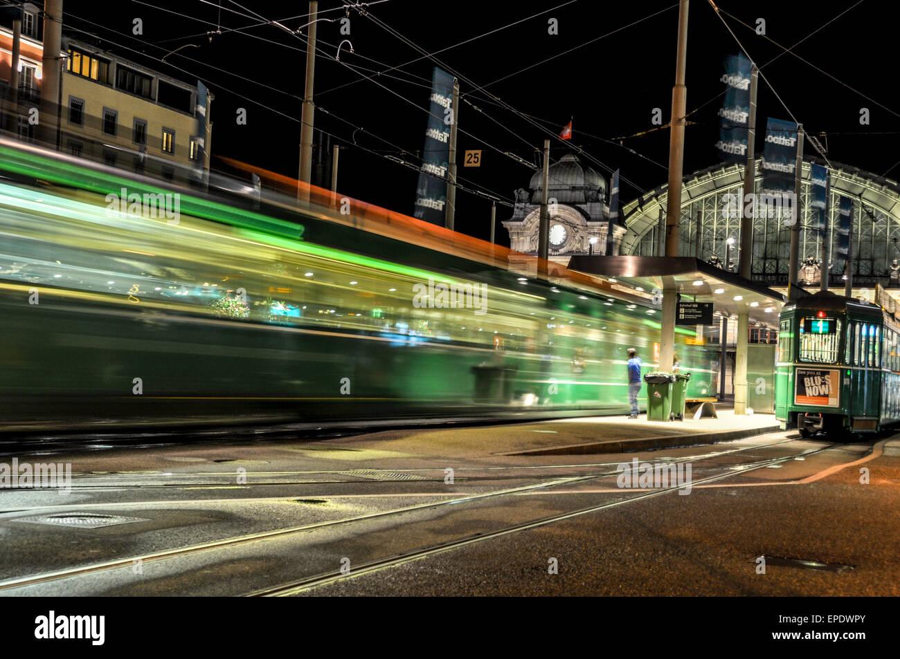 green-tram-approaching-the-platform-in-f