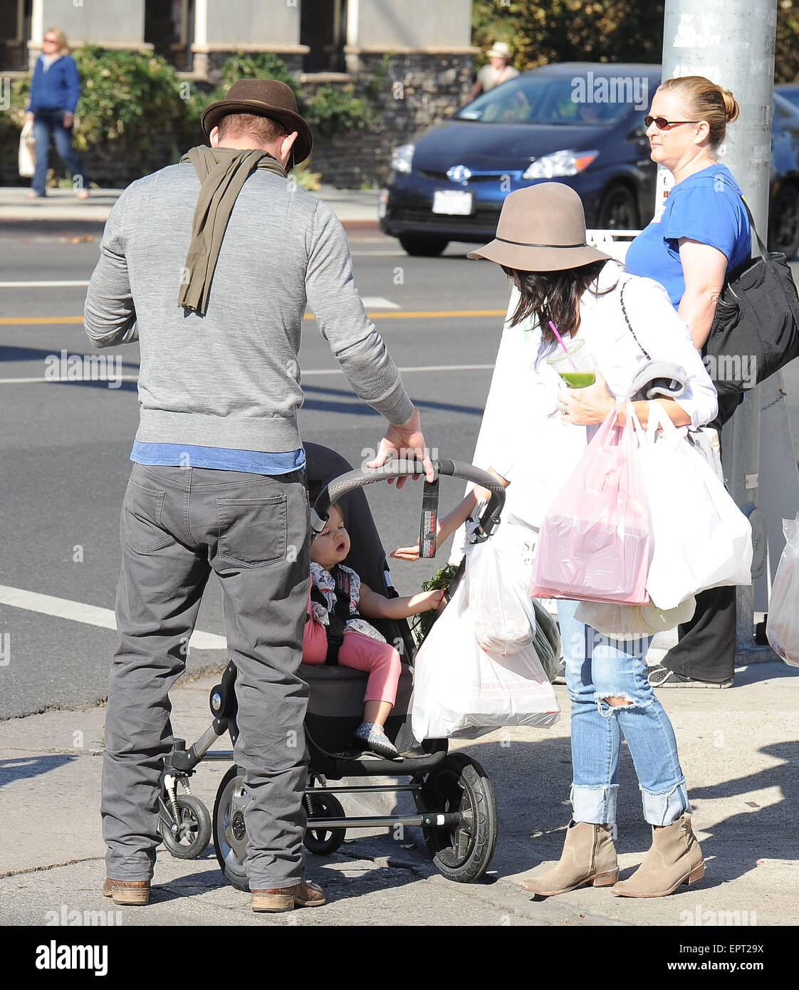 Channing Tatum and Jenna Dewan take their daughter, Everly ...