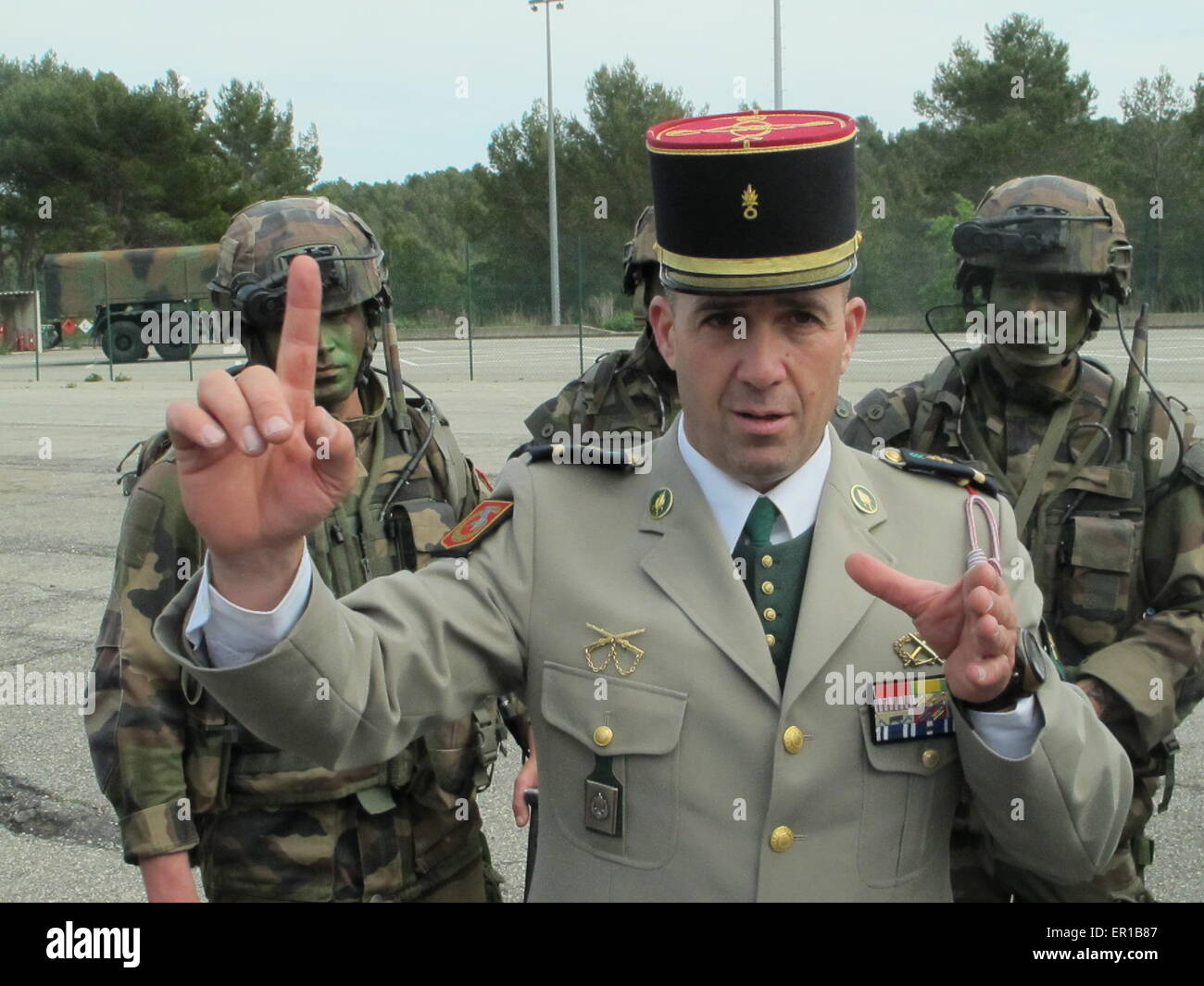 how to leave the french foreign legion