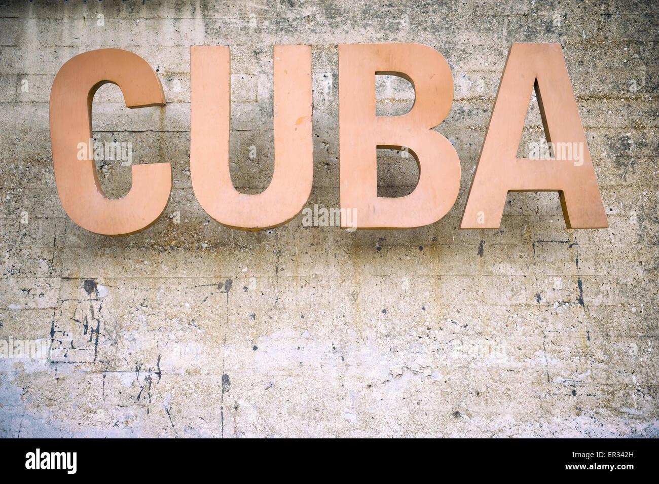 Cuban Capital  Letters