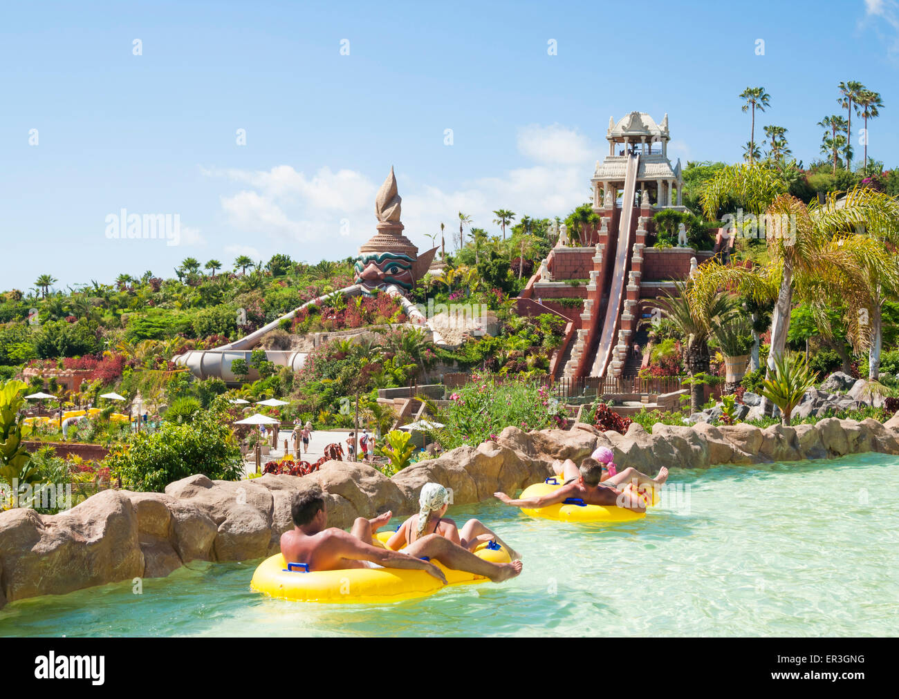Siam Water Park In Tenerife Canary Islands Spain