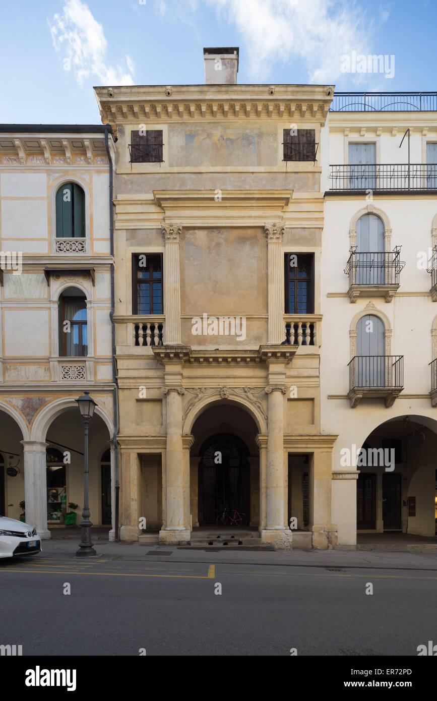 casa cogollo detta del palladio in vicenza italy