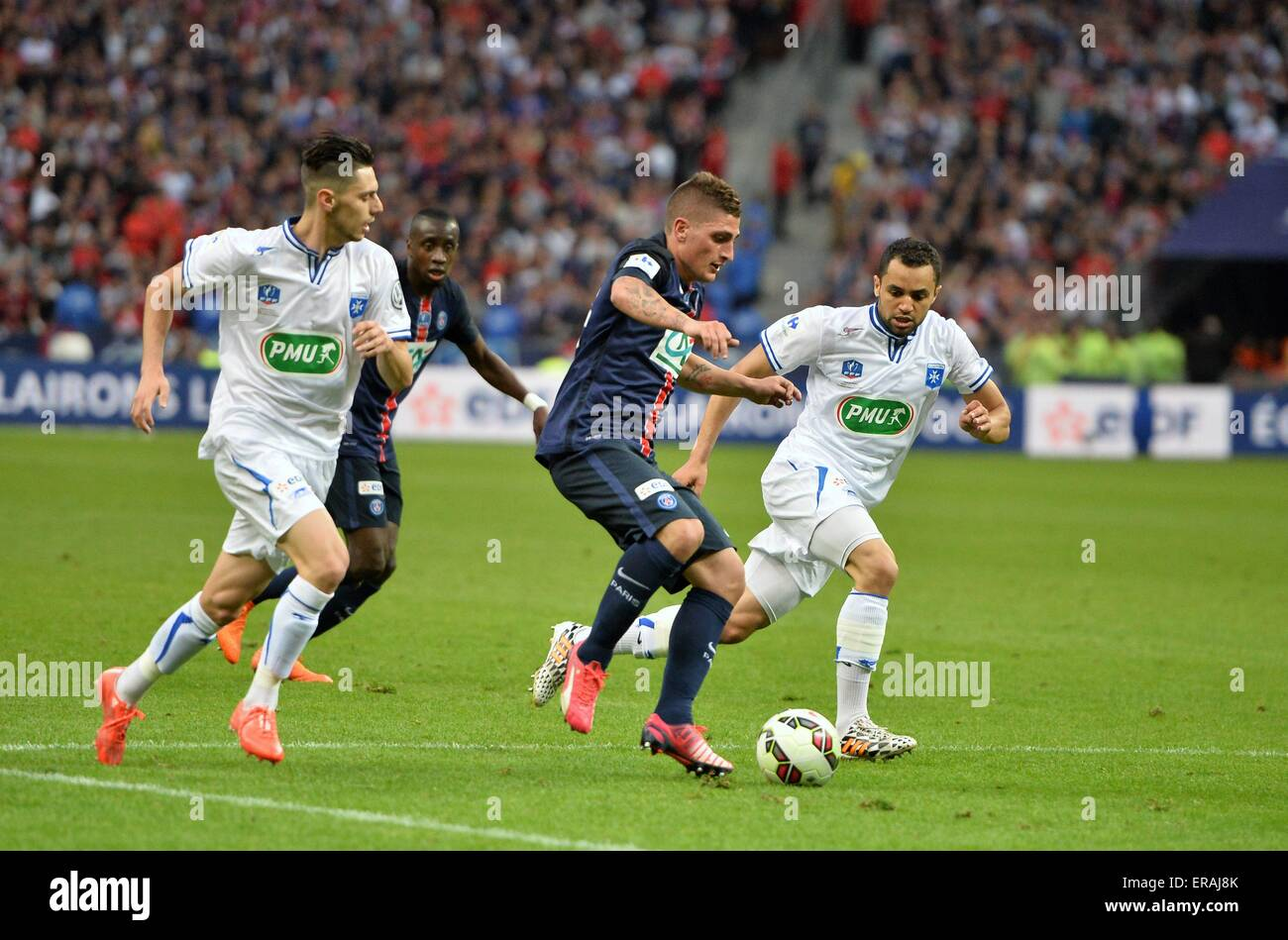 Stade de france paris france 30th may 2015 coupe de - Finale coupe de france football 2015 ...