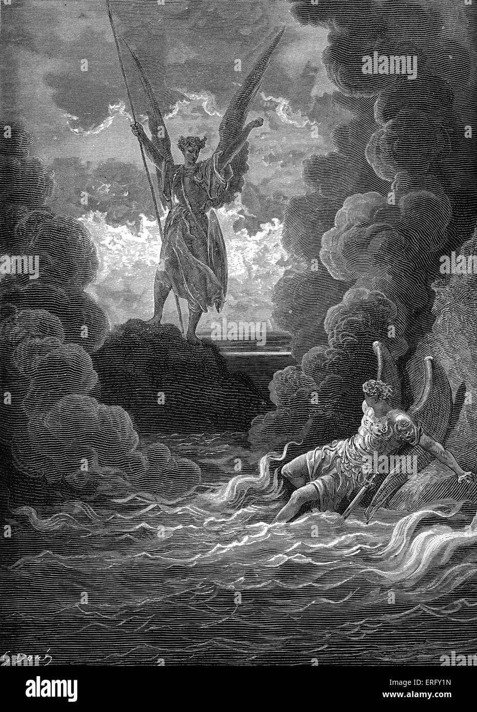 John miltons presentation of satan in paradise lost