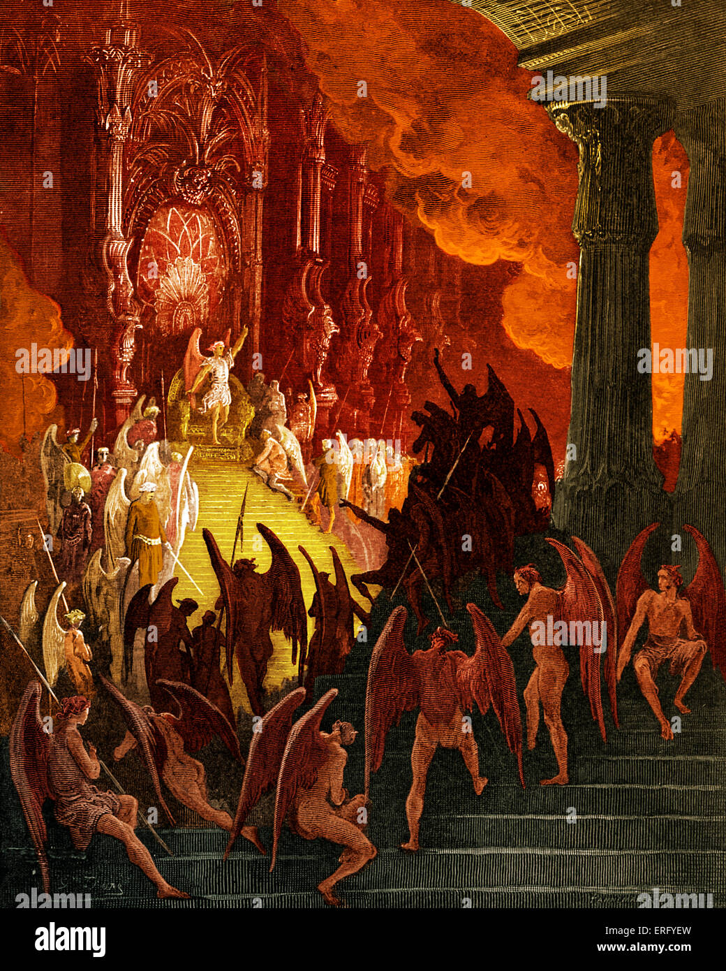 Satan as the hero of paradise lost by john milton