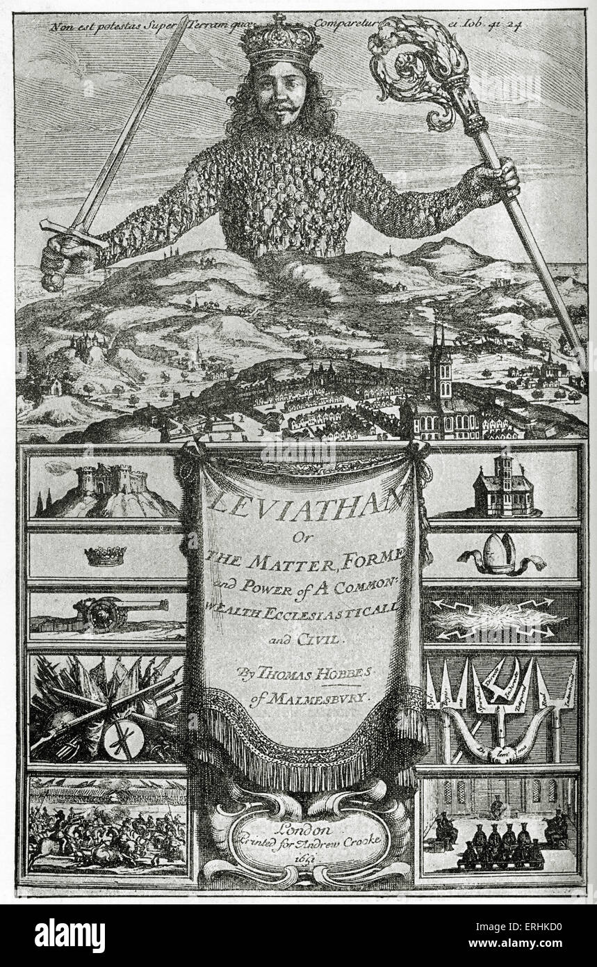 thomas hobbes leviathan essay The tools you need to write a quality essay or term  in the leviathan, hobbes major political  by looking at the theories of john locke and thomas hobbes.