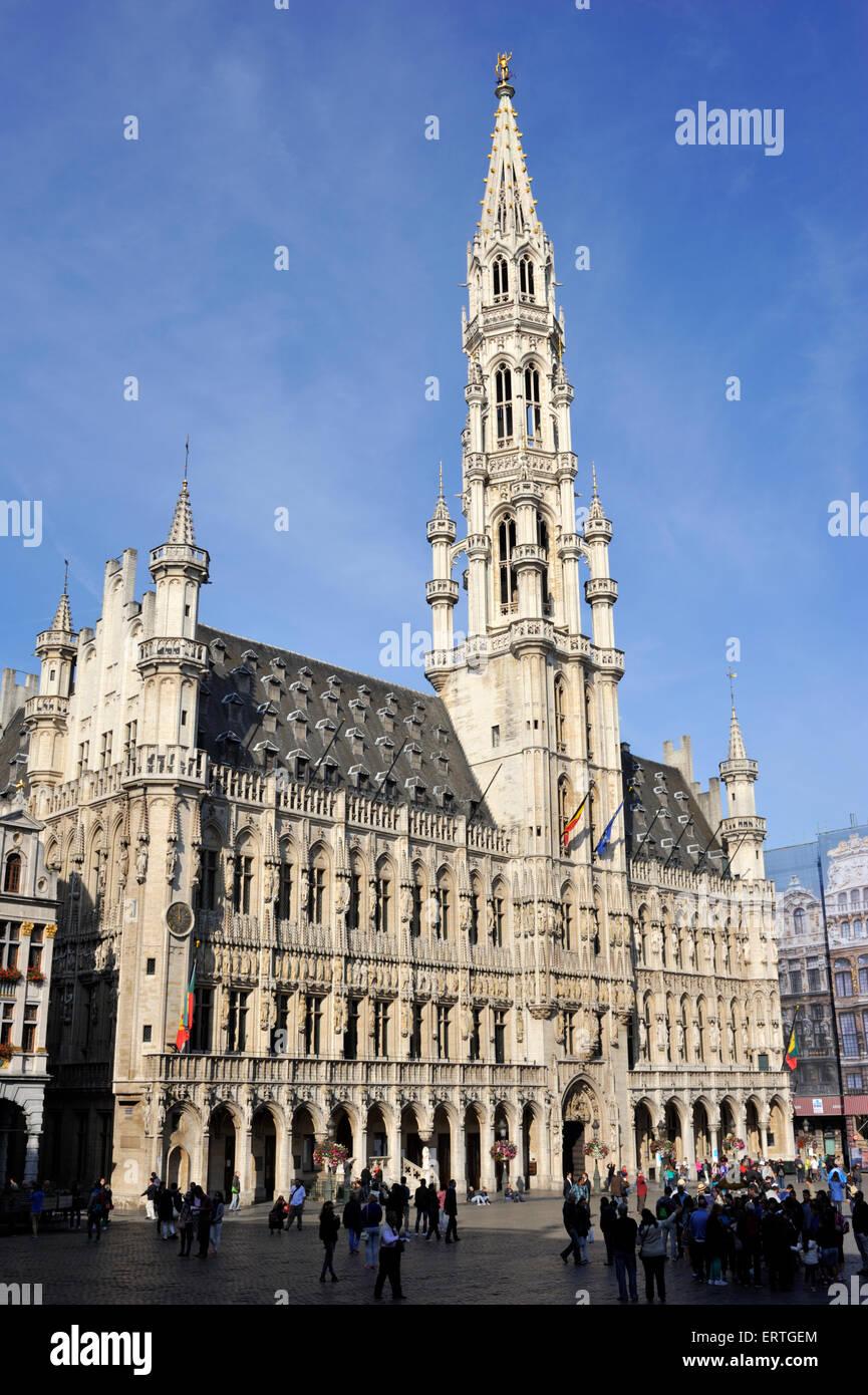 Belgium brussels grand place musee de la ville de for Bruxelles piscine