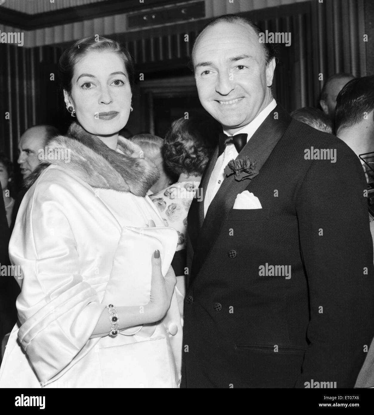 valerie hobson and husband john profumo minister of state