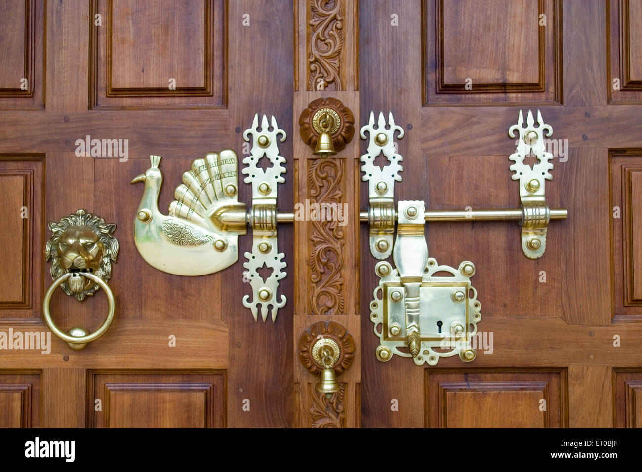 Door Lock Of Mar Sabore Afroth Jacobite Syrian Church At