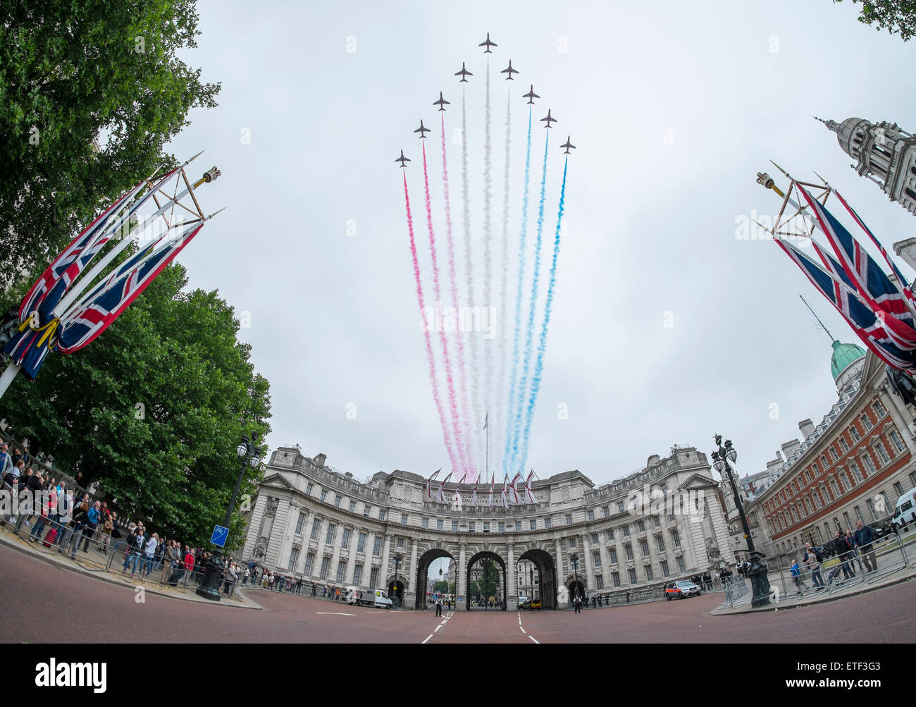 london-uk-13th-june-2015-flypast-by-the-
