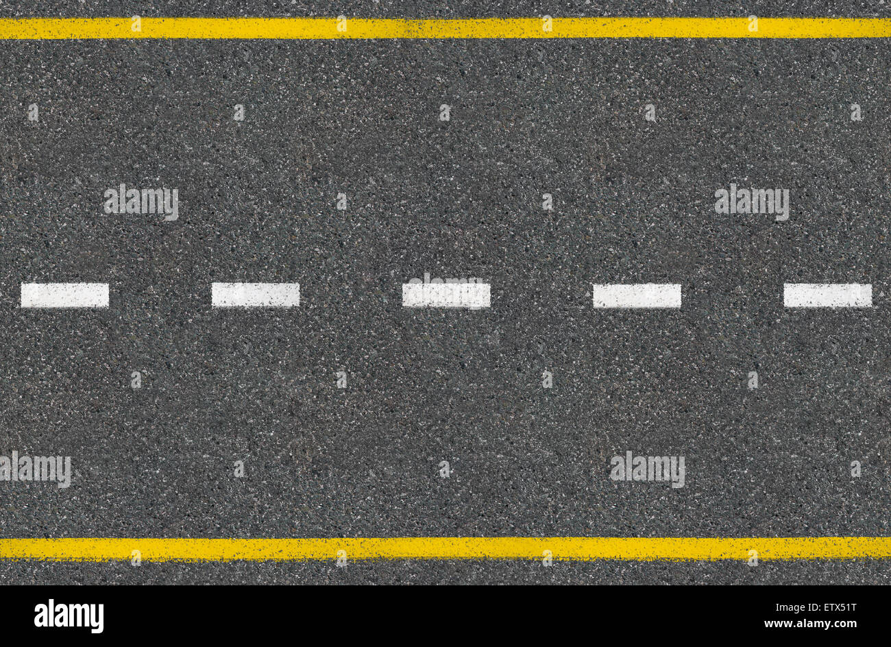 Asphalt road top view Stock Photo: 84167940 - Alamy