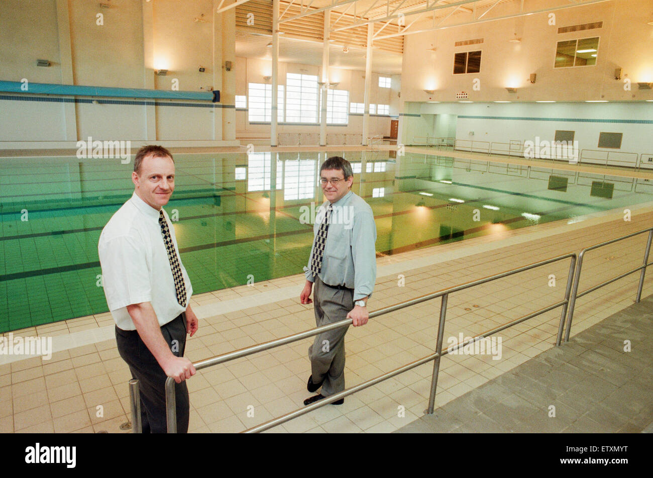 Berwick Hills New 25 Metre Pool At The Neptune Centre Middlesbrough Stock Photo Royalty Free