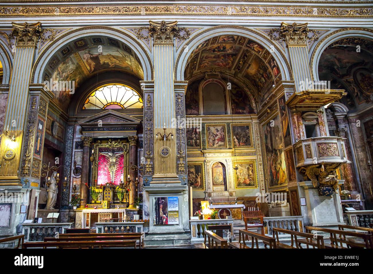 The presbytery in san marcello al corso church in rome - Corso di design roma ...