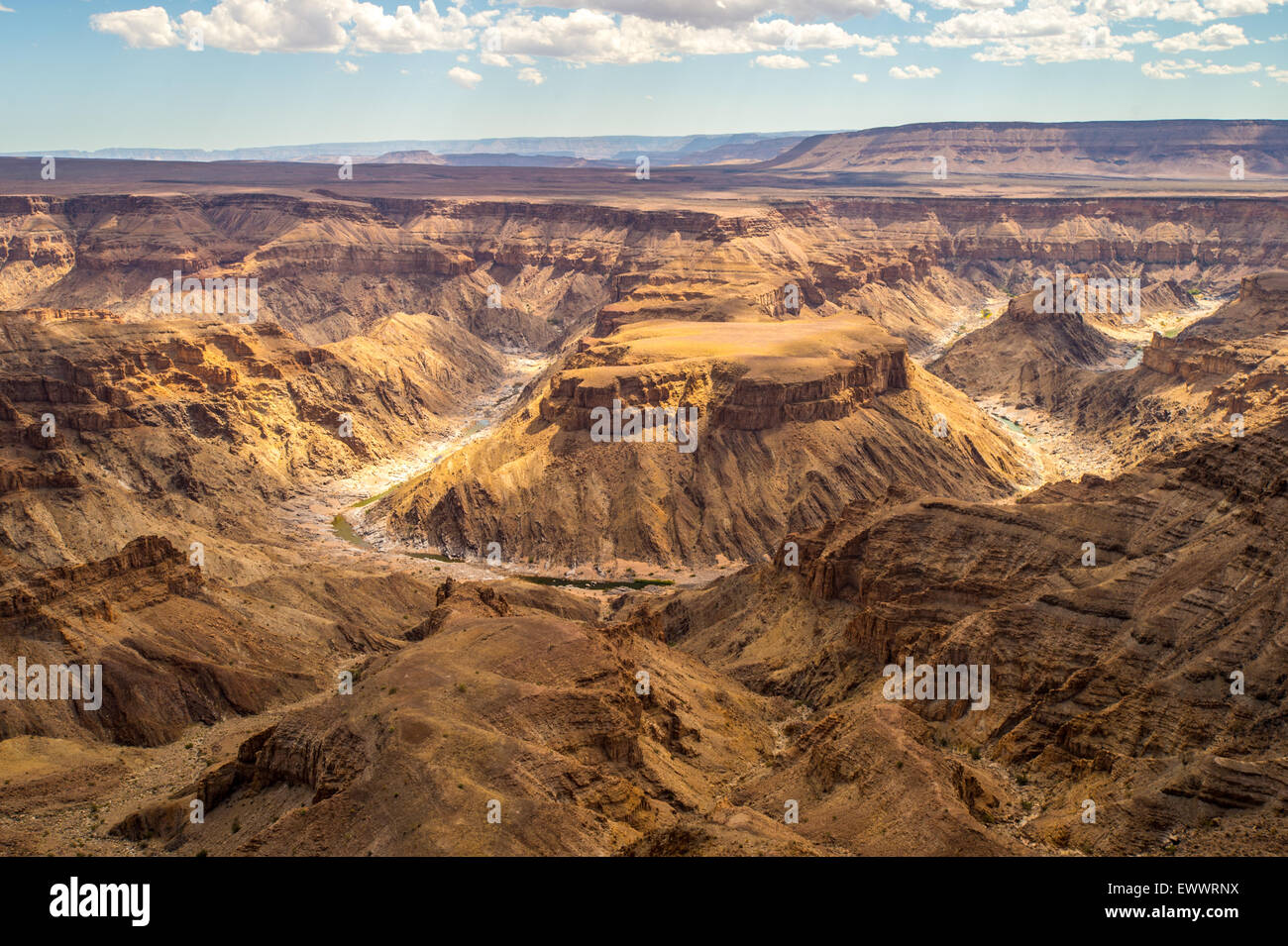 Hobas, Namibia, Africa - Fish River Canyon, the largest ...