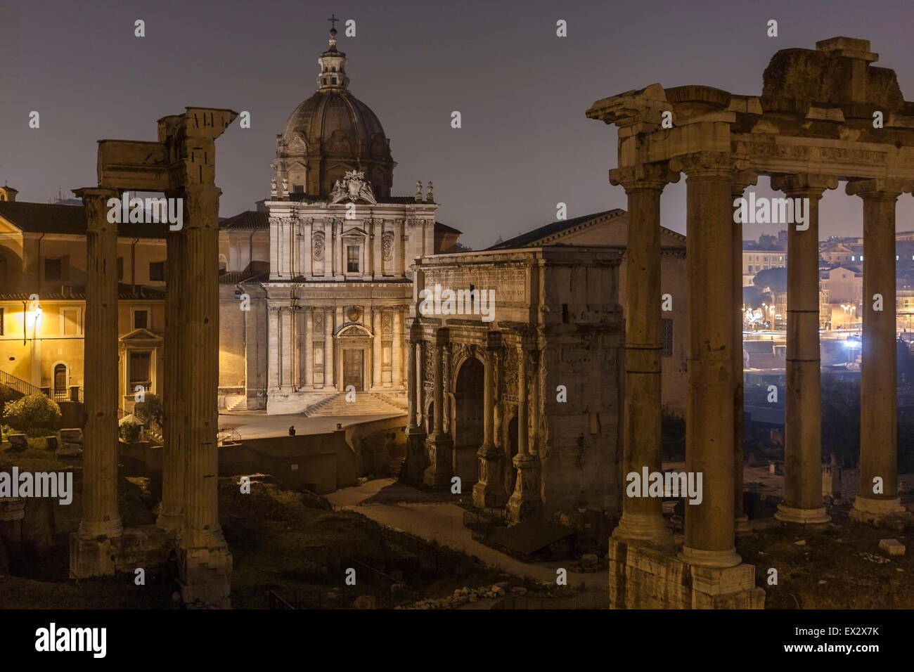 foro-romano-and-ruins-of-septimius-sever
