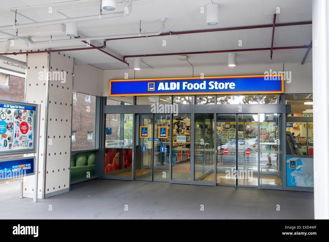 Aldi food supermarket store in north sydney australia for Aldi international cuisine