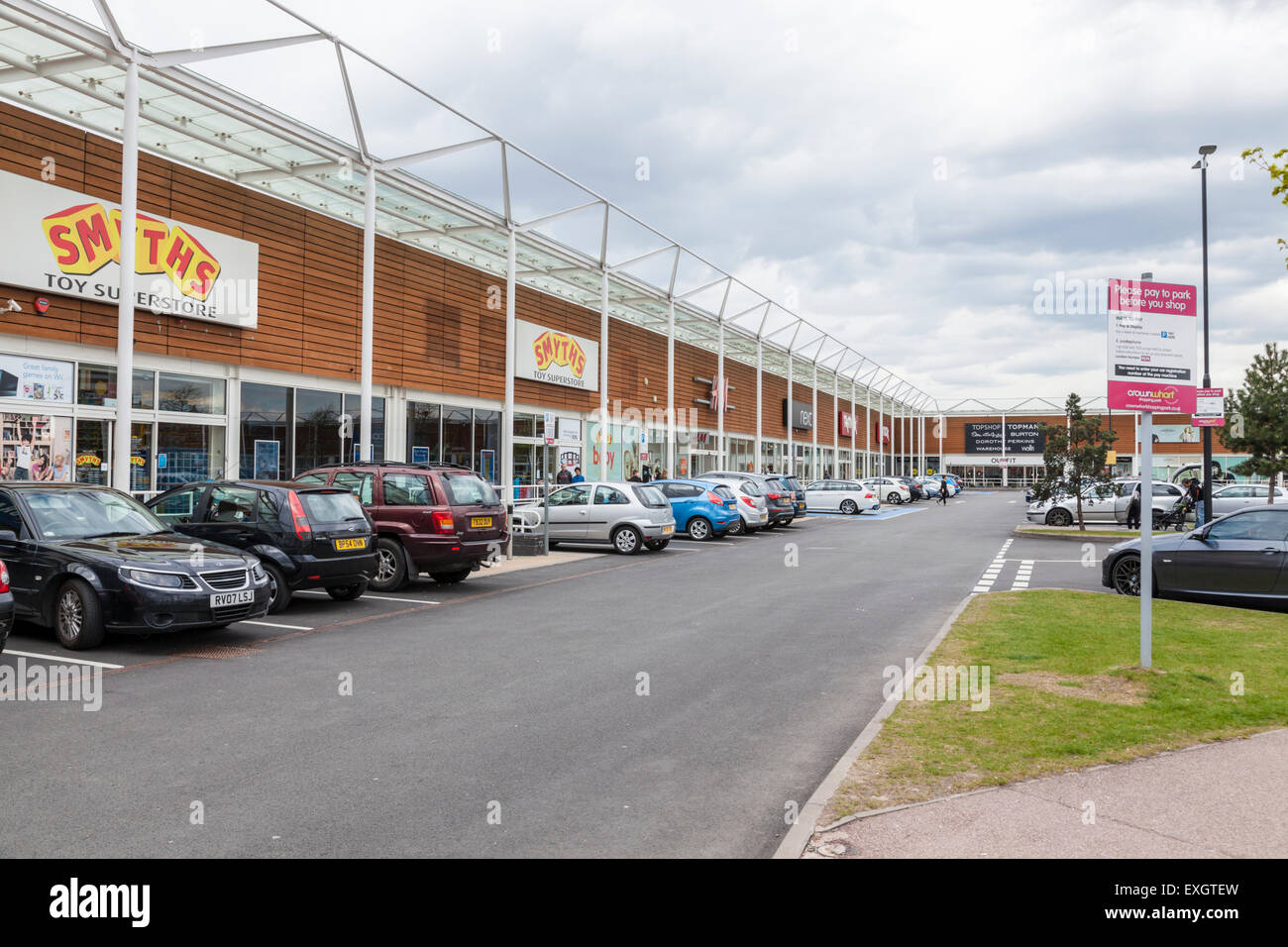 Walsall Shopping Car Park