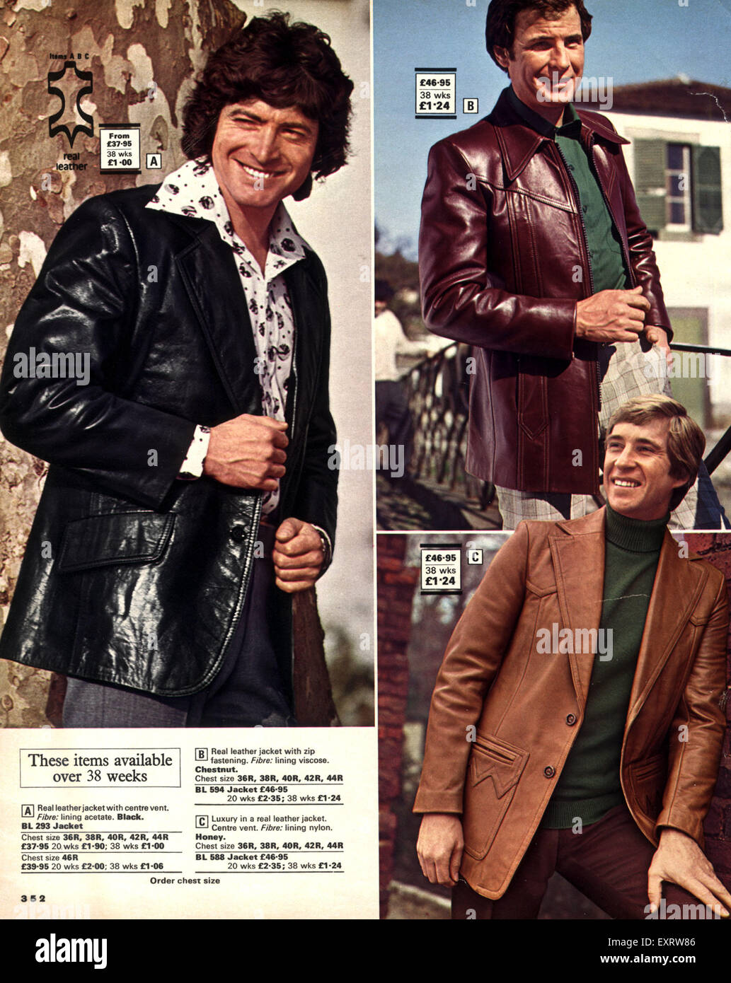 1970s UK John Moores Mens Fashion 1970s Catalogue ...