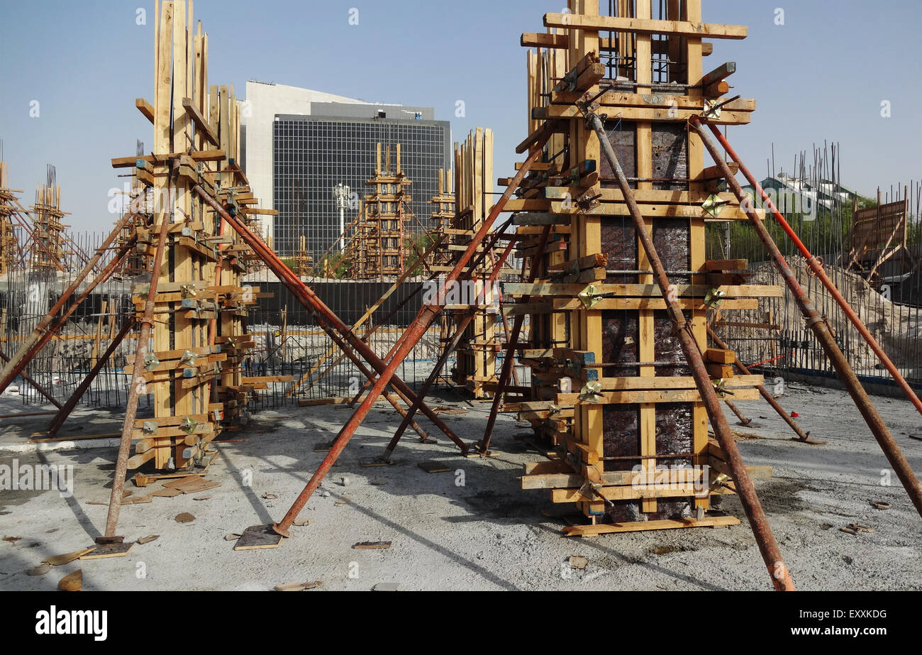 Ready Made Pillars : Shuttering and form works for concrete columns of a
