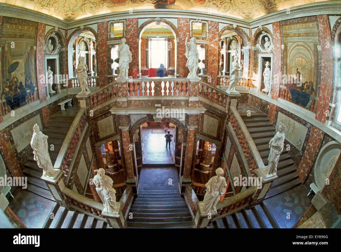 Interior Design Home Theater Baroque Interior Decorations At Drottningholm Castle Near
