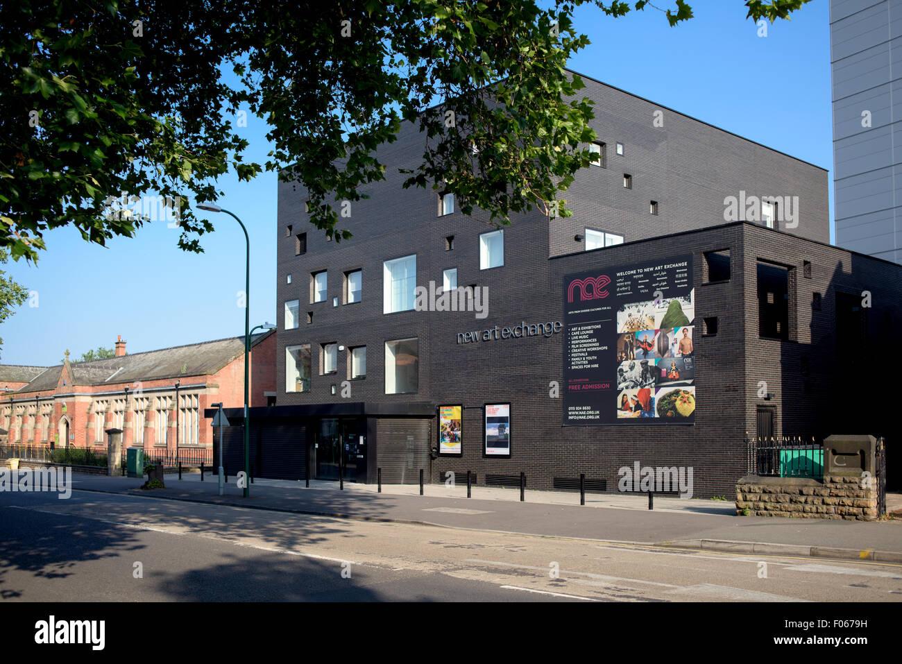 New Art Exchange Hyson Green ,Nottingham Stock Photo