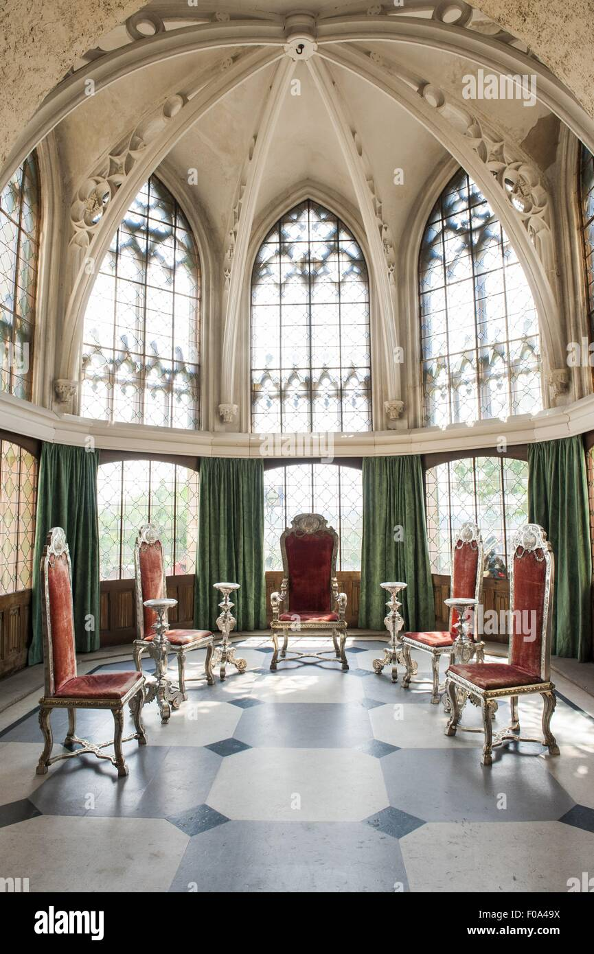 view of silver furniture of king george ii at marienburg. Black Bedroom Furniture Sets. Home Design Ideas