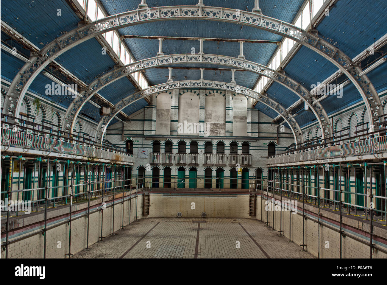 the closed main pool in moseley road swimming baths. Black Bedroom Furniture Sets. Home Design Ideas