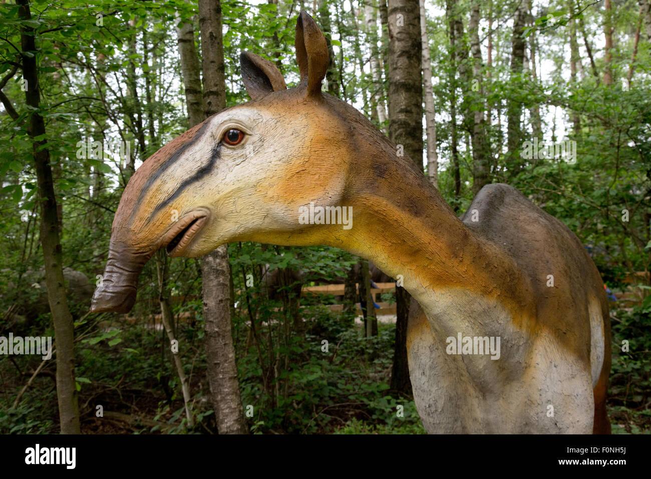 N Ungulate Macrauchenia long-neck...