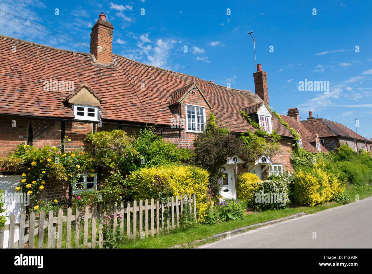 Cottages In Turville Henley On Thames Buckinghamshire