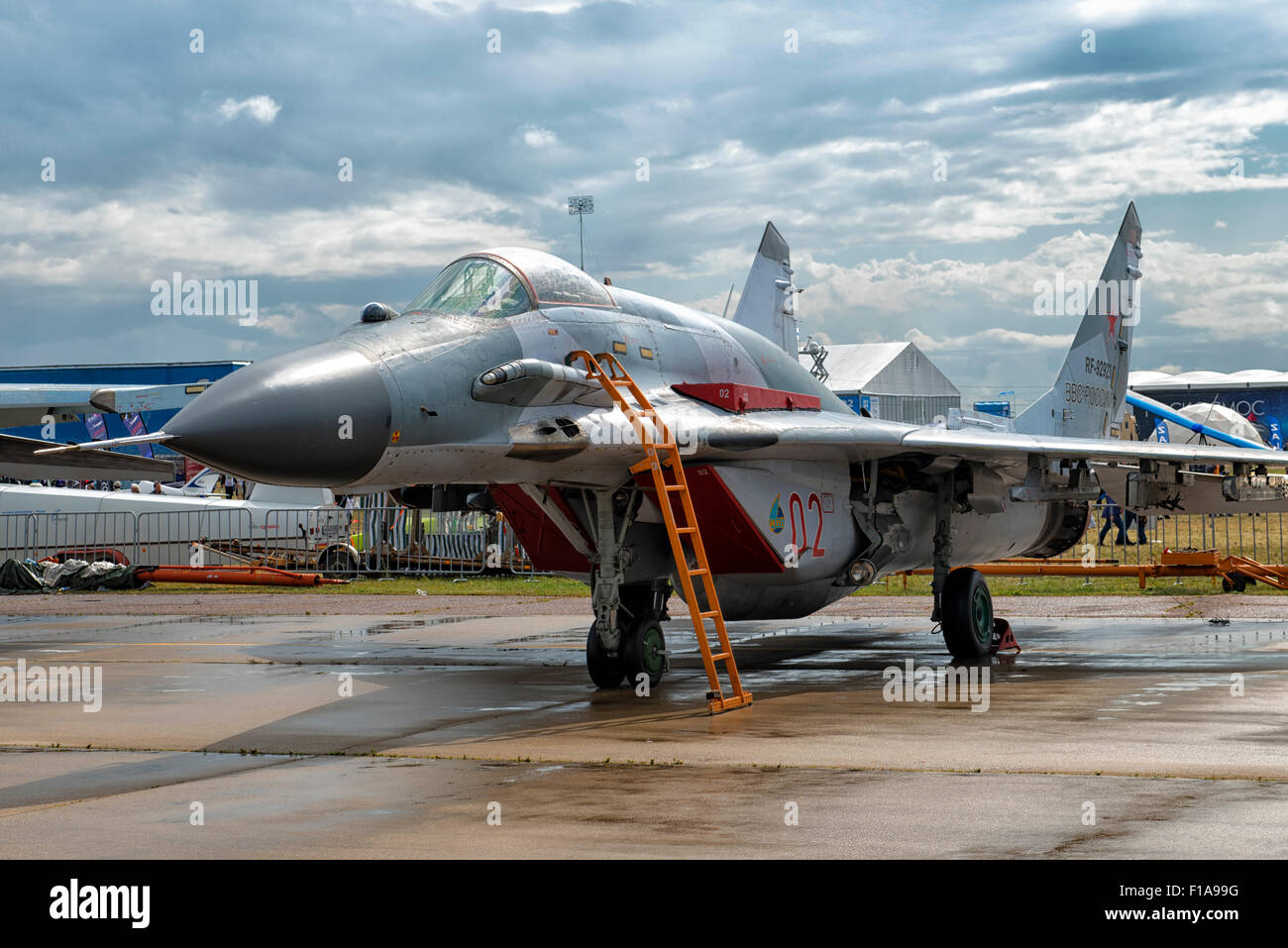 Mig 29smt fulcrum at maks 2015 air show in moscow russia for Airplane show