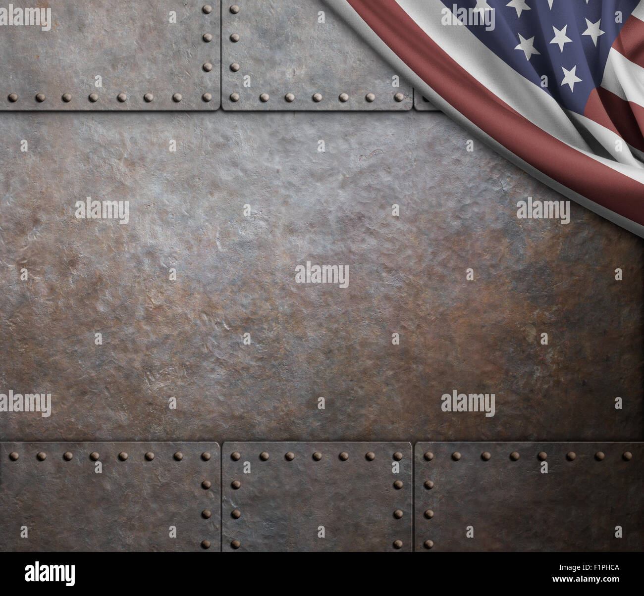 Sheet Metal Flag >> rust steel metal texture with rivets as steam punk background Stock Photo, Royalty Free Image ...