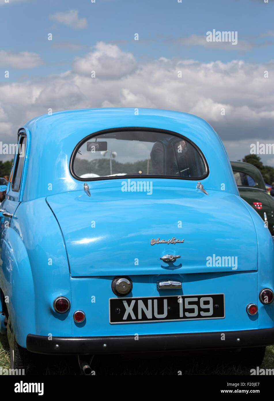 rear-of-blue-1955-austin-a30-at-steam-ra