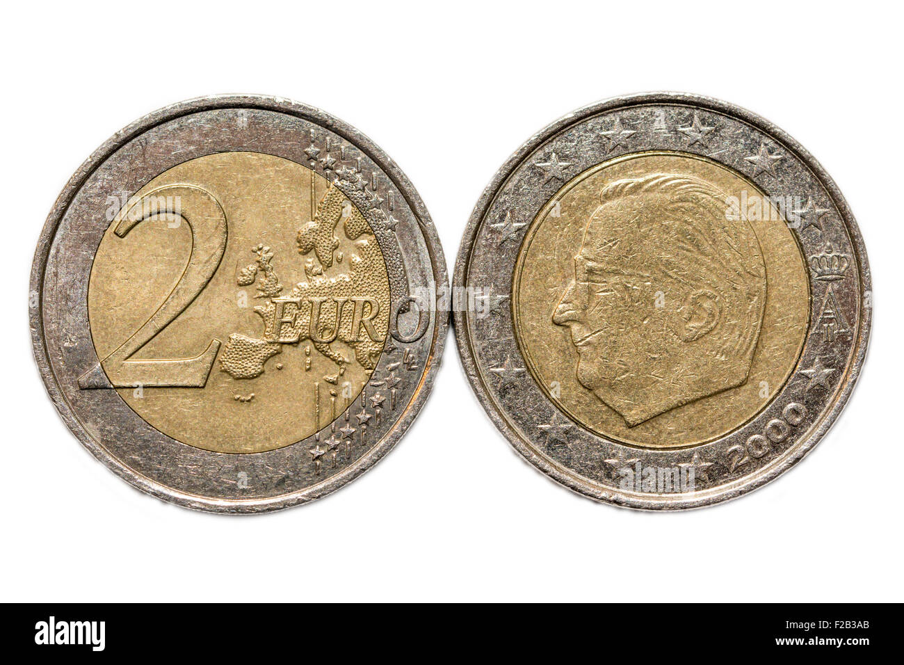 euro coin heads and tails