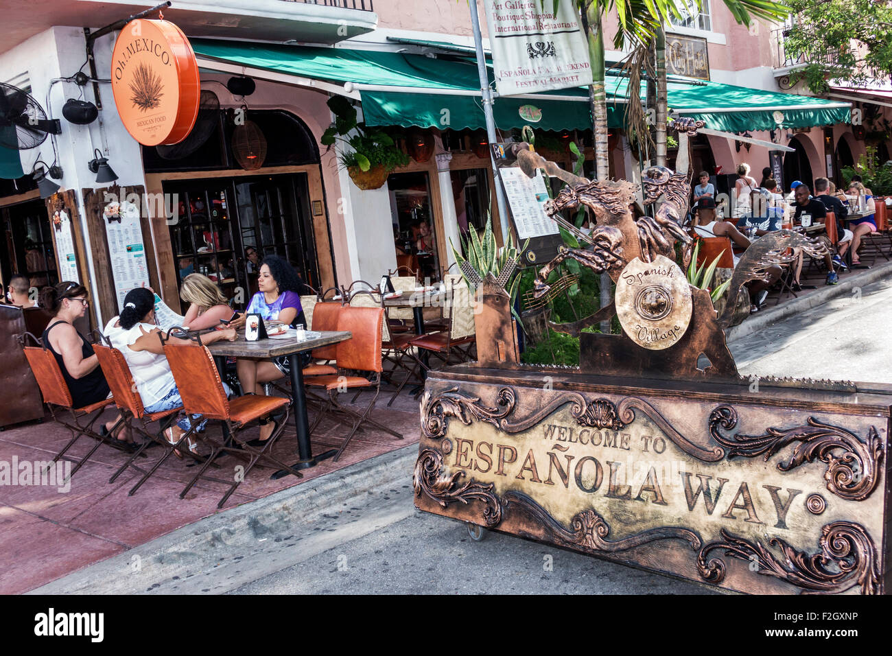 Mexican Restaurant In Espanola Way