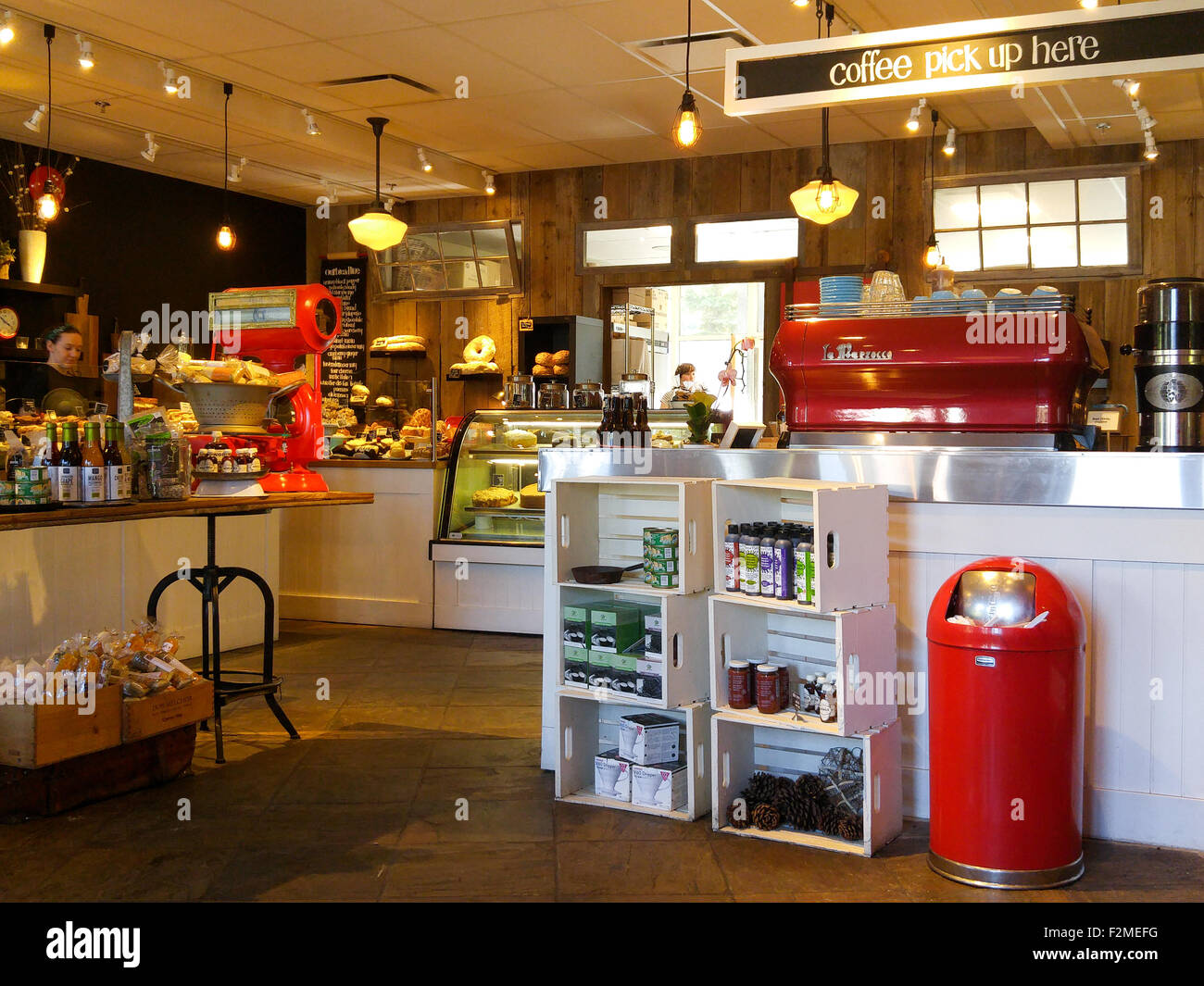 Inside of an old fashioned coffee shop bakery with retro for Classic house bakery