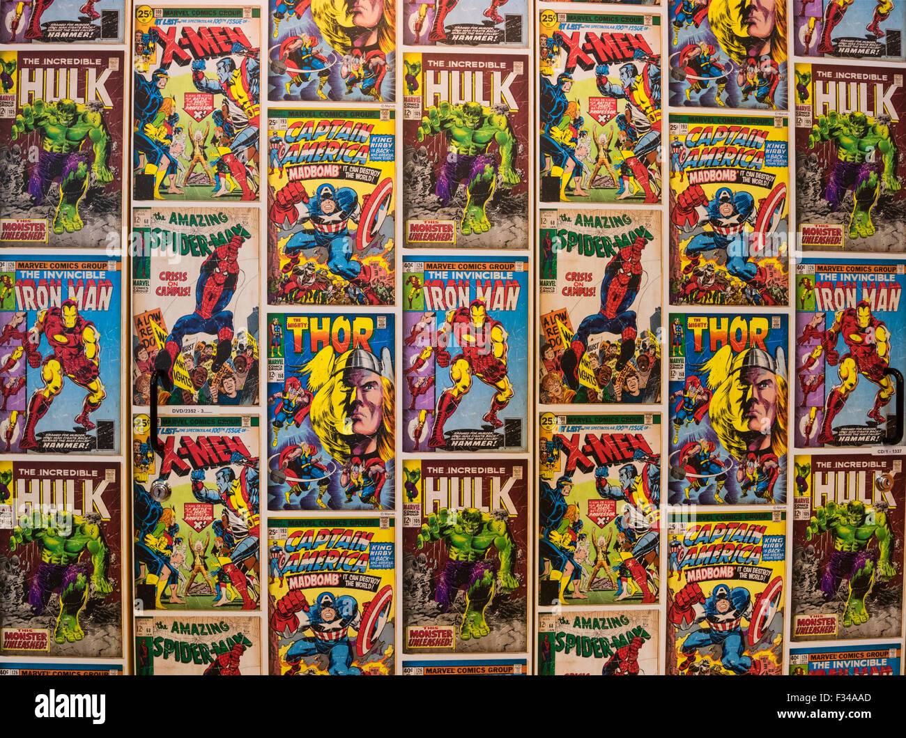 Amazing Wallpaper Marvel Vintage - wallpaper-display-created-from-covers-of-marvel-comics-featuring-marvel-F34AAD  Pictures_572434.jpg