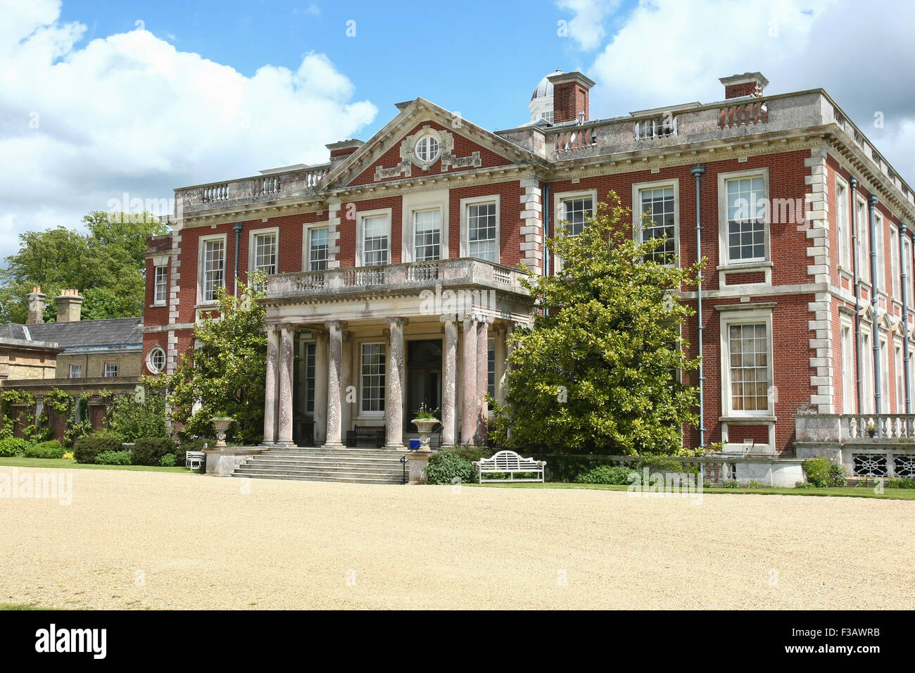 Stansted House A Beautiful Country House Stately Home Set In Sussex Stock Photo Royalty Free