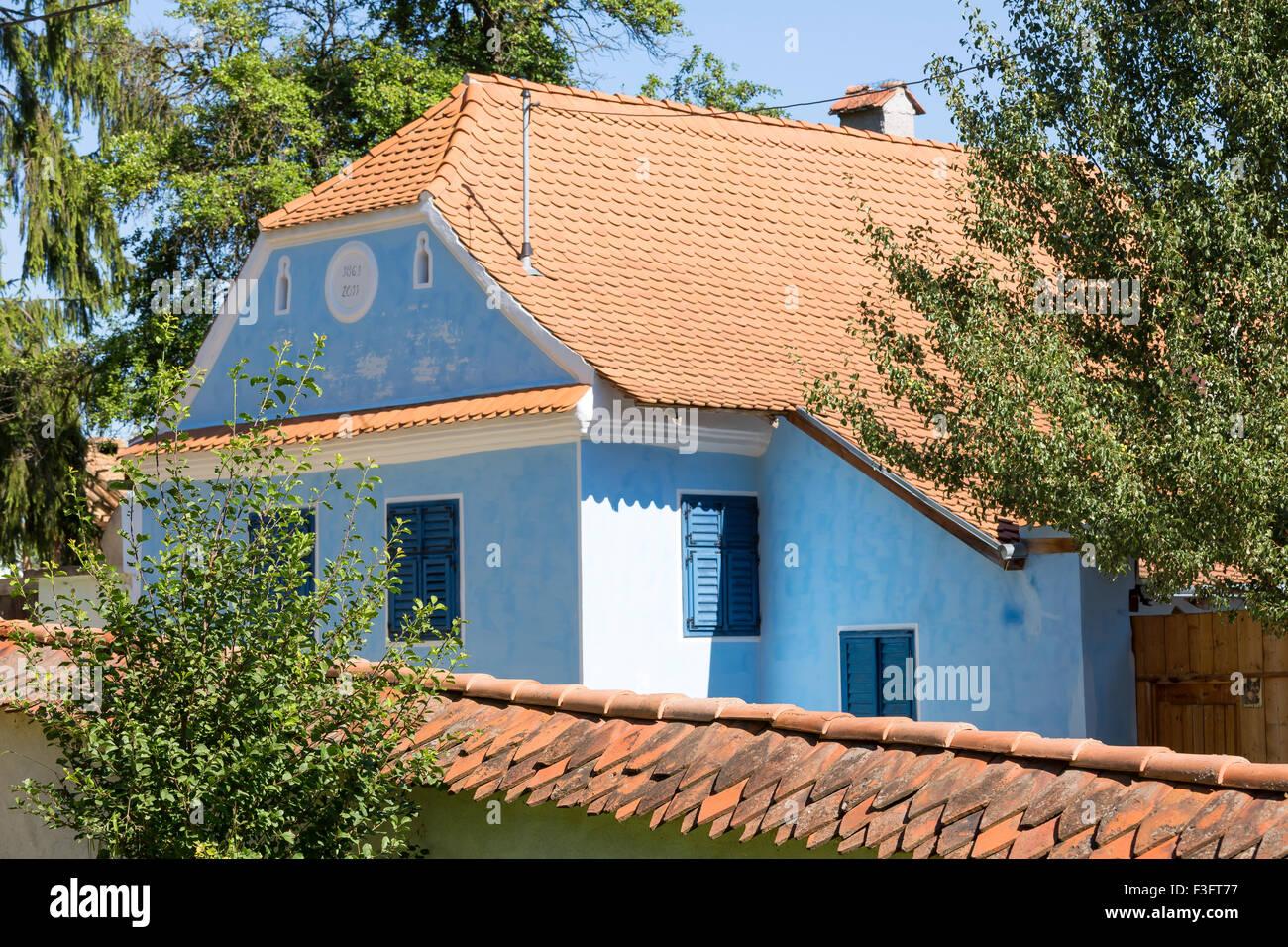 Traditional saxon village house in viscri transylvania romania stock photo royalty free image - Saxon style houses in transylvania ...